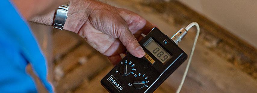 fuktmätning - vattensanering och mögelsanering